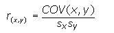 korelasyon katsayısı formülü